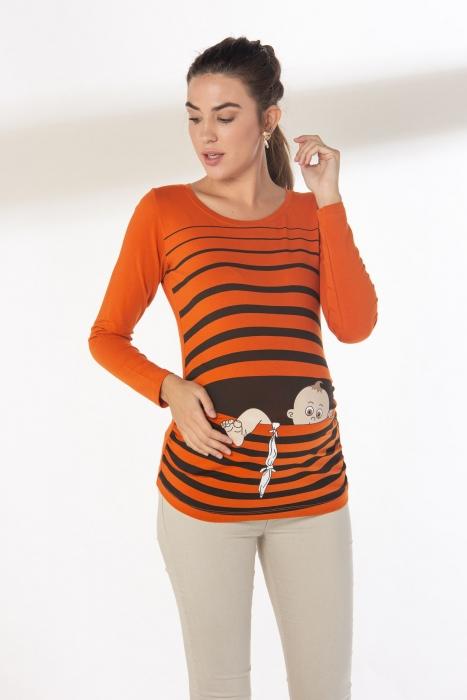 блуза Бебе оранж раие краче